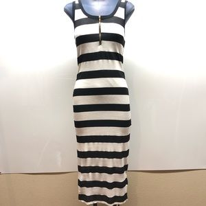 Fio fio Tank dress black and white